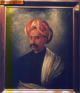 Noble man by Raja Ravi Varma