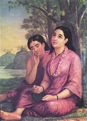 Sakunthala by Raja Ravi Varma